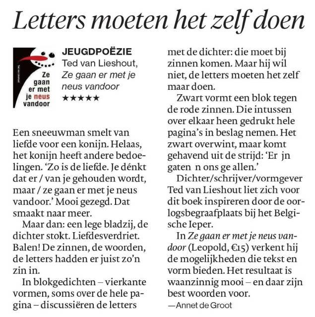 Lieshout,-Ted-van_Ze-gaan-er-met-je-neus-vandoor_Magazine-ed.-Brabants-Dagblad_10112018